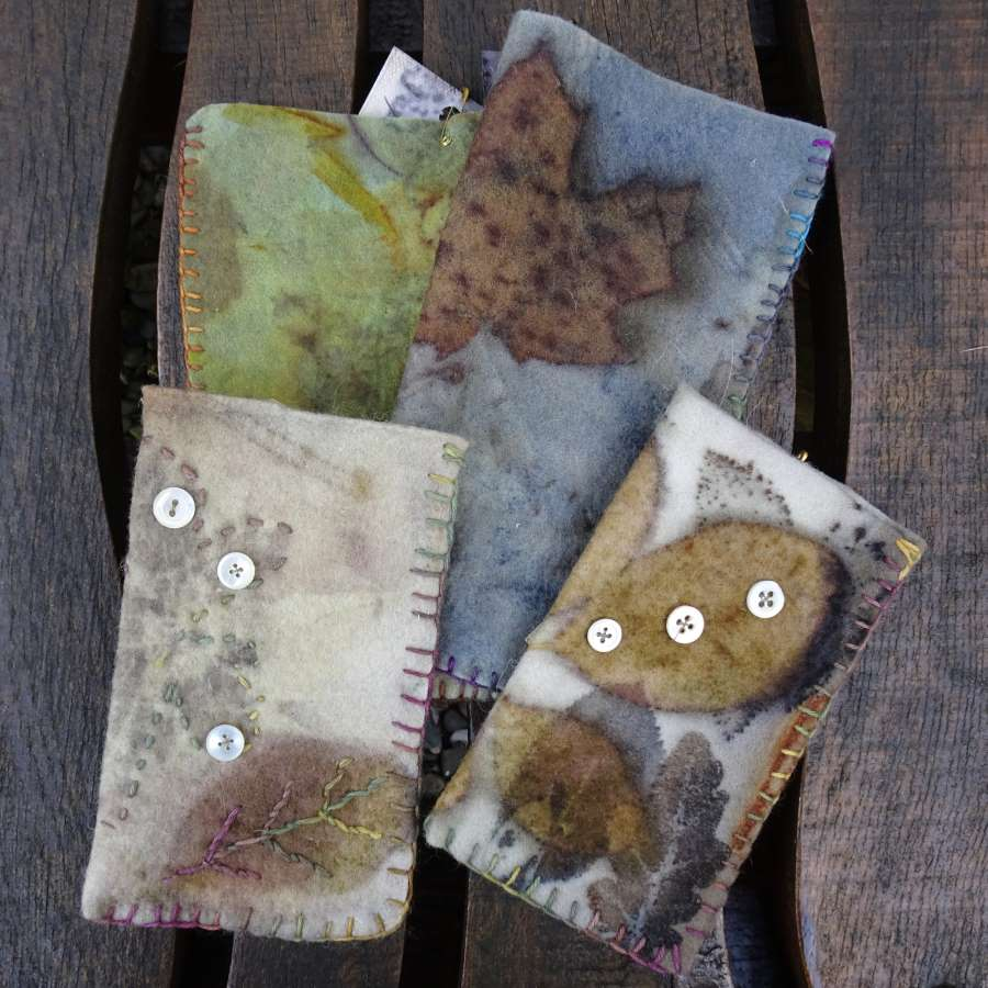 Eco Printed Phone Cases