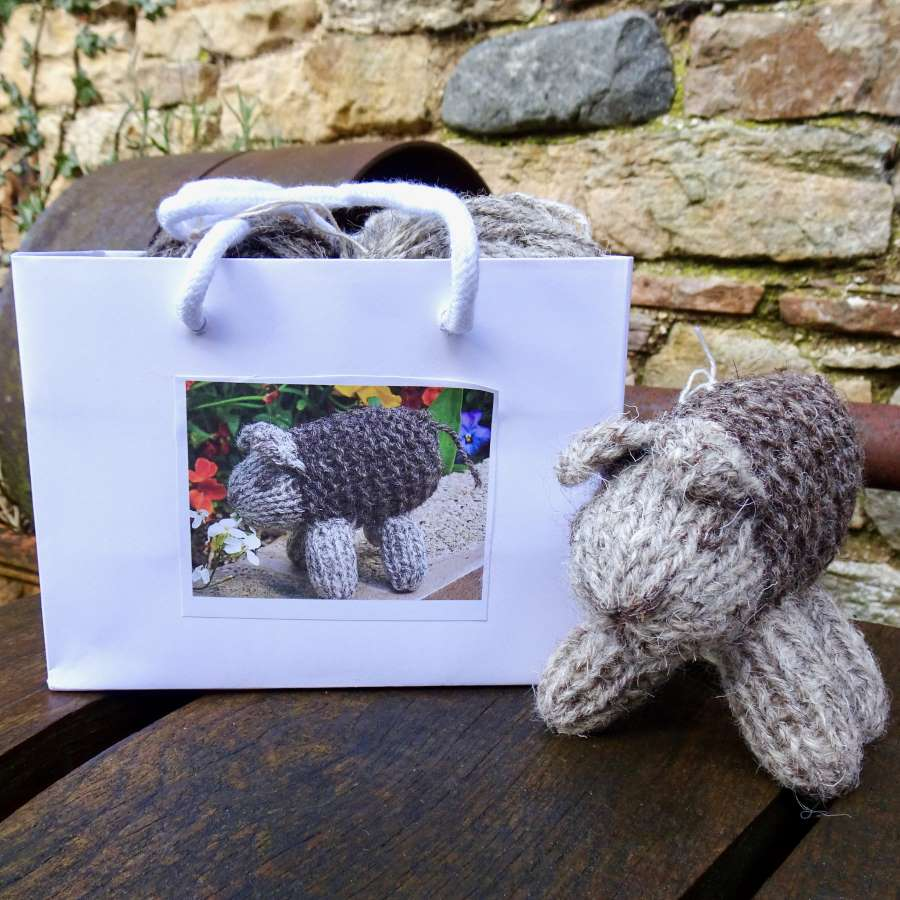 Herdwick Sheep Knit Kit