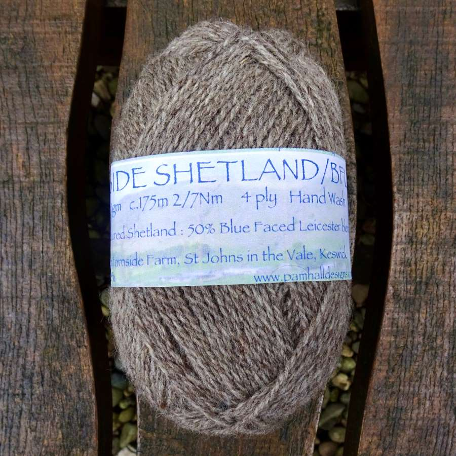 4 ply: Shetland / Bluefaced Leicester Blend